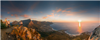 Panorama of the Western Cape with the Twelve Apos...
