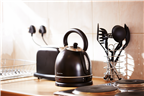 Appliances and utensils at a self catering holida...