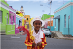 Africa, architecture, boy, Bo Kaap, buildings, Ca...