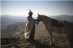 Cultural Roots - Sotho man and his horse