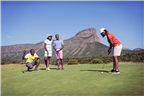 People playing golf in Limpopo
