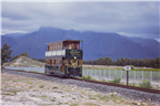 The Franschhoek Wine Tram on its tracks