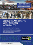 Print Ad - Meetings Africa Guide with event progr...