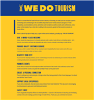 We Do Tourism - Web Banner Tips